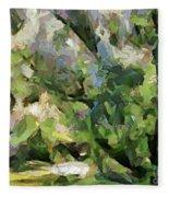 The Swamp - Wetlands Fleece Blanket