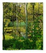 The Swamp Fleece Blanket