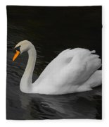 The Swan Fleece Blanket