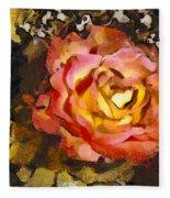 The Sweetest Rose 1 Fleece Blanket