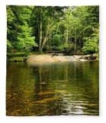 The Swimming Hole Fleece Blanket