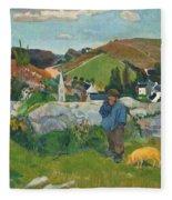 The Swinehead Fleece Blanket