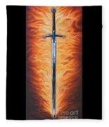 The Sword Of The Spirit Fleece Blanket