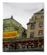 The Szegedi Halaszcsarda Fleece Blanket