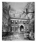 The Taft House - Brown University 1958 Fleece Blanket