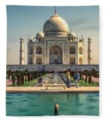 The Taj Maha Fleece Blanket