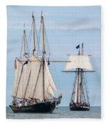 The Tall Ships Fleece Blanket
