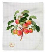 The Tartarian Crab Apple Fleece Blanket