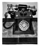 The Telephone Fleece Blanket