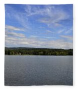 The Tennessee River In Alabama Fleece Blanket