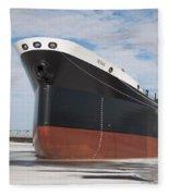 The Texas Cargo Ship Fleece Blanket