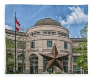 The Texas State History Museum Fleece Blanket