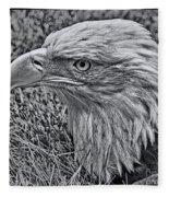 The Thinker Fleece Blanket