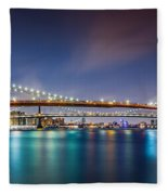 The Three Bridges Fleece Blanket