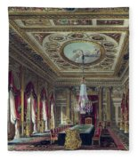 The Throne Room, Carlton House Fleece Blanket