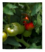 The Tomato Plant Fleece Blanket