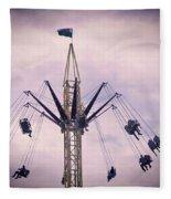 The Tower Swing Ride 1 Fleece Blanket