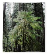 The Tree In The Forest Fleece Blanket