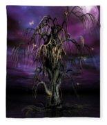 The Tree Of Sawols Fleece Blanket