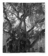 The Tree Vines Fleece Blanket