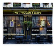 The Trigger And Dave Pub Fleece Blanket