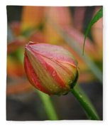 The Tulip Bud Fleece Blanket