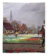 The Tulip Folly Fleece Blanket
