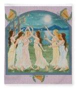 The Twelve Dancing Princesses Fleece Blanket