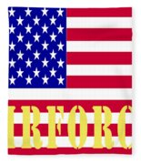 The United States Airforce Fleece Blanket