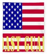 The United States Coast Guard Fleece Blanket