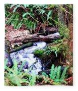 The Unknown Creek Fleece Blanket