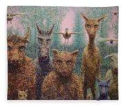 The Untamed Fleece Blanket