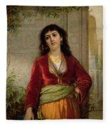 The Unwelcome Companion , C.1872-73 Fleece Blanket