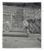 The Upstairs At The Cemetery Fleece Blanket