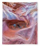 The Valley Eye Fleece Blanket