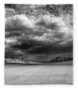 The Valley Of Shadows Fleece Blanket