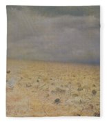 The Vanquished.  Requiem For The Dead, 1878-79 Oil On Canvas Fleece Blanket