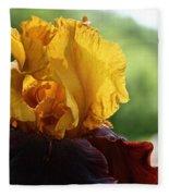 The Velvet Iris Fleece Blanket