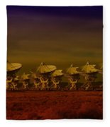 The Very Large Array In New Mexico Fleece Blanket