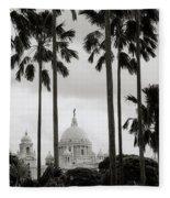 Victorian Calcutta Fleece Blanket
