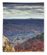 The View Fleece Blanket