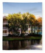The Villas Of Walt Disney World Fleece Blanket
