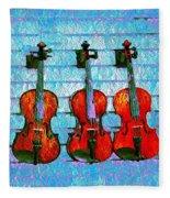 The Violin Store Fleece Blanket
