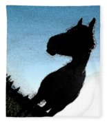 The Visiter Fleece Blanket