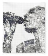 Maxi Jazz Fleece Blanket