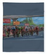 The Vuelta Fleece Blanket