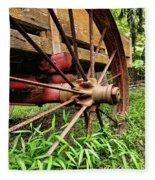 The Wagon Wheel Fleece Blanket