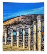 The Wales Millennium Centre Fleece Blanket