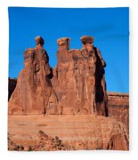 The Watchers Fleece Blanket