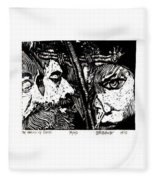 The Watchers Of Death Fleece Blanket